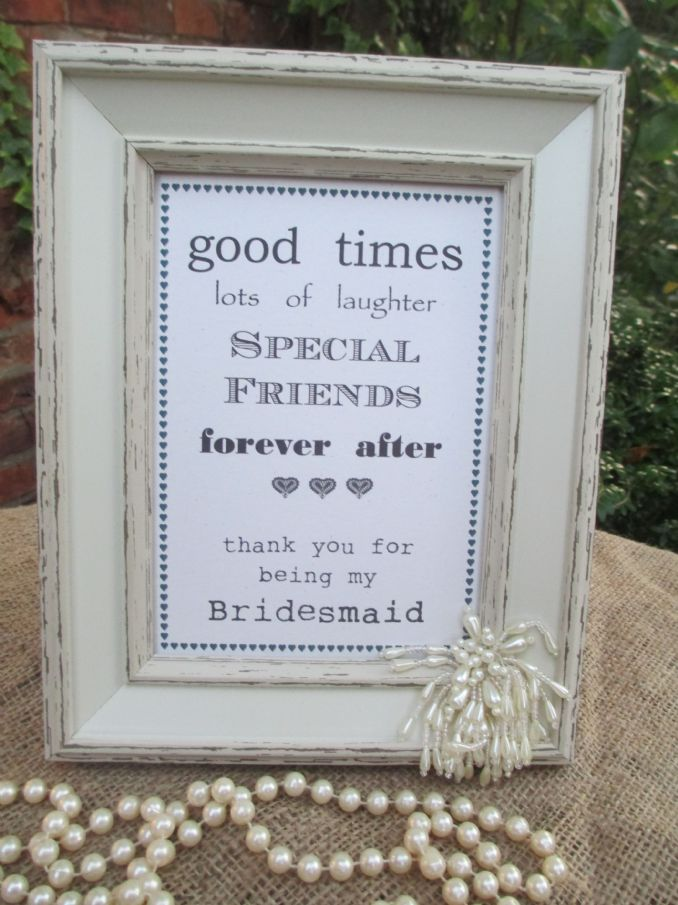 Exelent Bridesmaid Picture Frames Collection - Framed Art Ideas ...